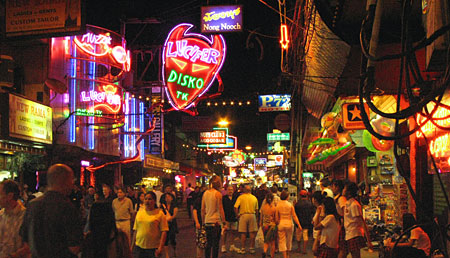walking street pattaya